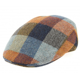 Casquette Plate Guardia Patchwork Laine- Traclet