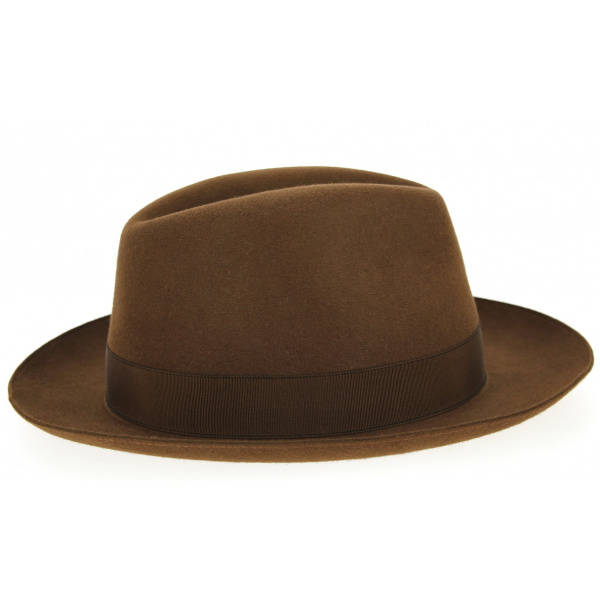 Borsalino Vanzina Brown Hat