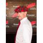 Casquette irlandaise à carreaux rouge - Hanna hats