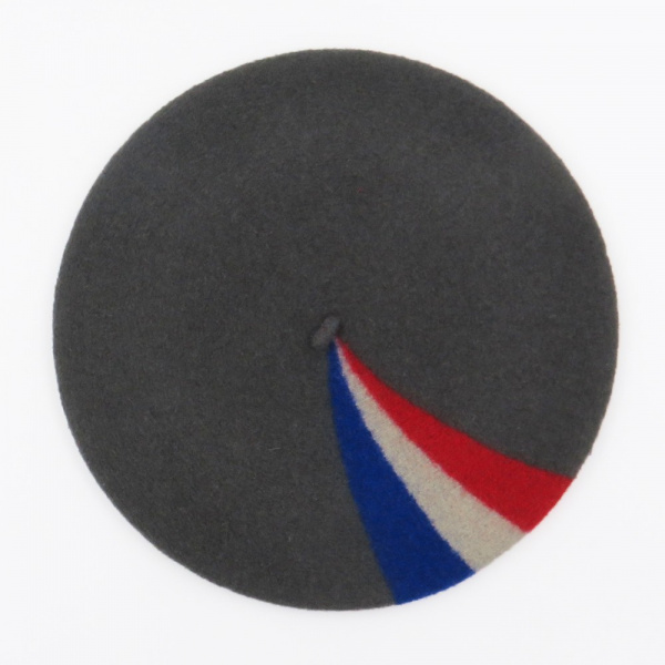 The French Beret- Patriot Beret Grey