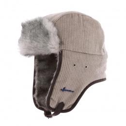 Chapka Buck Velvet Beige Fake Fur- Herman