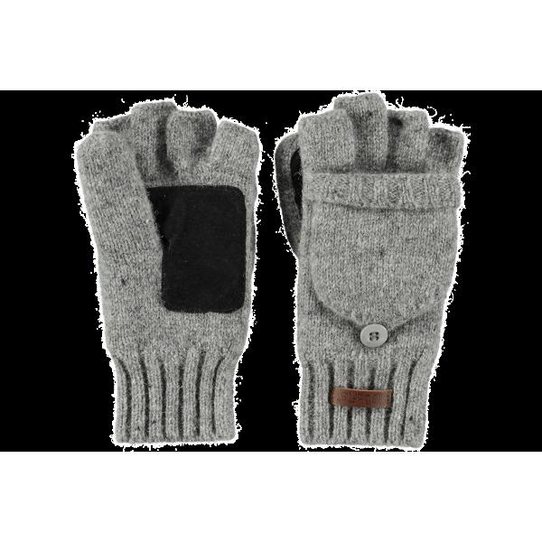 Gloves/Mittens Wool haakon Grey - Barts