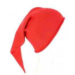 Bonnet de Nuit Long Chacarel Coton Rouge- Traclet