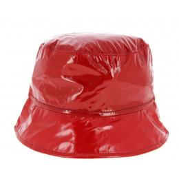 Chapeau Bob de Pluie Rouge- Traclet