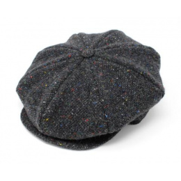 Irish Herringbone Newsboy Cap