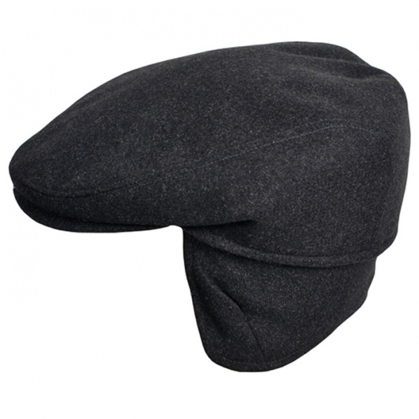 Casquette Firenze Cache-Oreilles Anthracite- Traclet