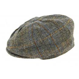Casquette Irlandaise A Carreaux Marron- Hanna Hats