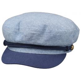Casquette Marin Ashland Coton Bleu - Brixton