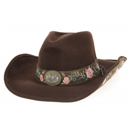 Western Heart Breaker Chocolate Bullhide Hat