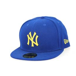 Seascont NY Yankees Blue & Yellow Cap- New Era