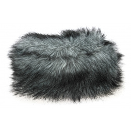 Toque Tenessee Faux Fur White & Black - Traclet