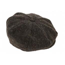 Casquette Irlandaise Tralee Marron Chiné  - Hanna Hats
