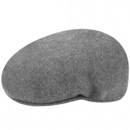 504 Winter Flat Cap Dark Grey- Kangol