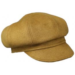 Cap Gavroche Woman Wool Honey - Traclet