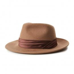 Fedora Goodman Wool Felt Hat Camel- Brixton