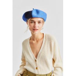 Béret Audrey IV Laine Bleu- Brixton