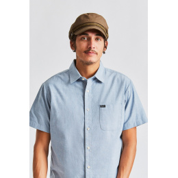 Navy Cap Fiddler Cotton Military Olive - Brixton