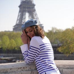 Béret Classique Bleu Crépuscule- Le Béret Français