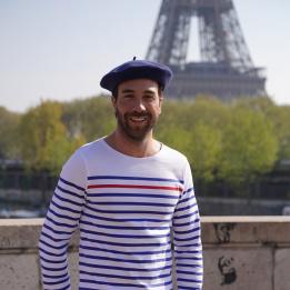 Béret Classique Denim- Le Béret Français
