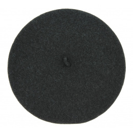 The Classic Charcoal French Beret- Le Béret Français