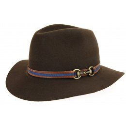 Indiana Brown Felt Hat - Traclet