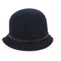 Chapeau Cloche Marine Année 30- Traclet