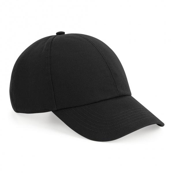 Casquette Baseball Coton Biologique Noire- Beechfield