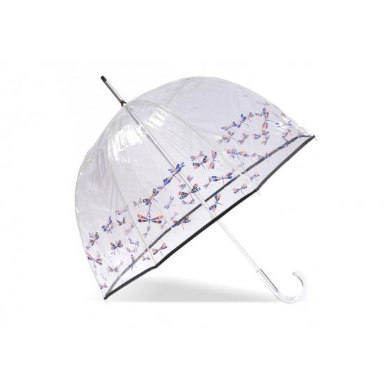 Parapluie Cloche Transparent Libellule- Isotoner