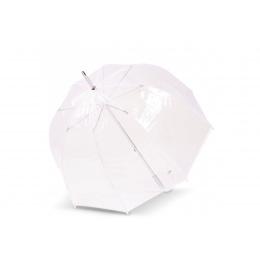 Parapluie Cloche Transparent Blanc- Isotoner