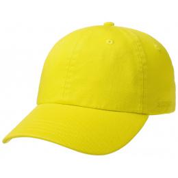 Rector Baseball Cap Rector Cotton Yellow Fluo- Stetson