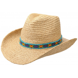 Western Natural Straw Hat - Stetson