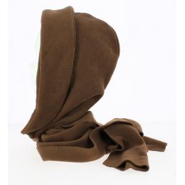 Women's Fleece Fleece Hood Brown - Traclet