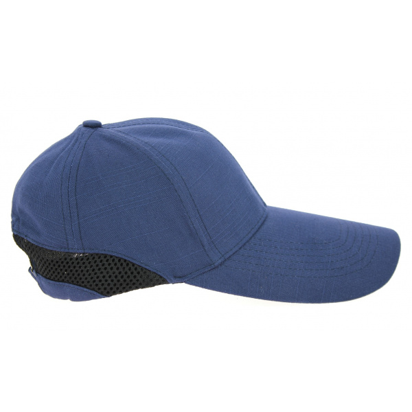 Casquette Grande Visière Cody Coton Bleu Marine- Traclet