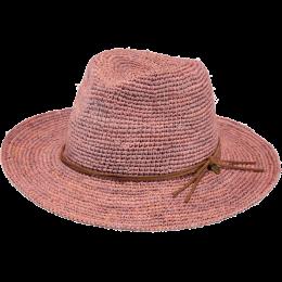 Hat Traveller Celery Old Rose Straw Hat - Barts