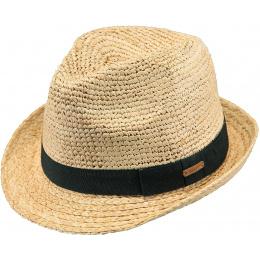 Trilby Hat Sedad Natural Straw - Barts