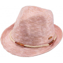 Jinotega Children's Trilby Hat Cotton Pink - Barts