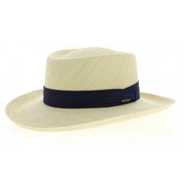 Chapeau Gambler Panama Paille Naturelle- Stetson