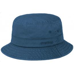 Bob Coton Twill Coton Bleu Marine- Stetson