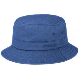 Blue Cotton Twill Bob - Stetson