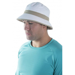 Bob Amaury Blanc & Beige Anti-UV- Soway