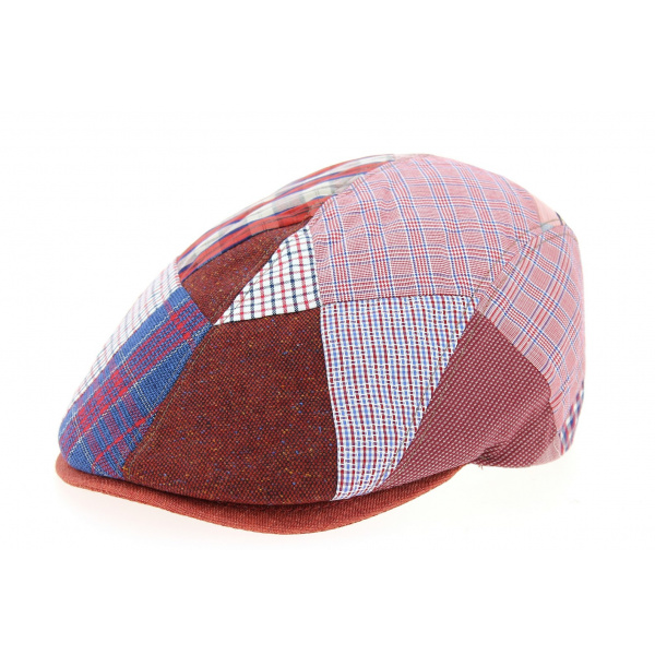 Casquette Plate Meys Lin Rouge- Traclet