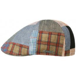 Texas Patchwork Cap Linen, Wool & Cotton- Stetson
