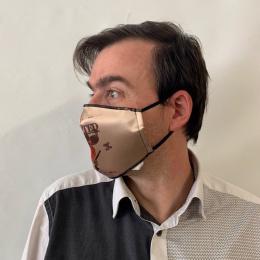 Masque Western Fantaisie Élastique Noir- Traclet