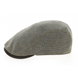 Jackson Brown Cotton & Linen Flat Cap - Göttmann