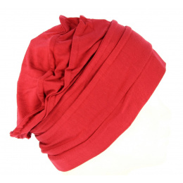 Chemotherapy Chemotherapy Women's Toque Dark Red Bamboo - Mtm