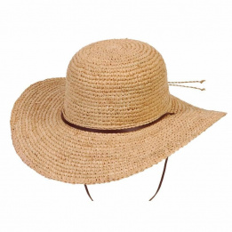 Capeline Tuscany Ladies Summer Raphia Naturel- Conner Hats