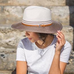 Chapeau Bella Ivoire Stone - Emthunzini Hats