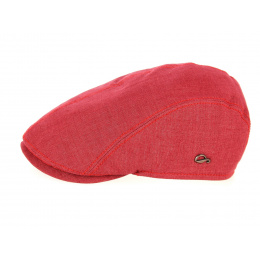Red Jackson Flat Cap Linen - Göttmann
