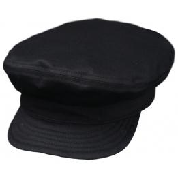 Casquette Marin Bréda Coton Noire- Traclet
