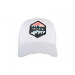 Walt Trucker Baseball Cap White Cotton- Hatland